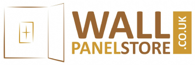 wall panel store logo